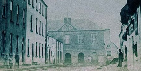 Photo:The old Market House and Courthouse, Ballinrobe pre 1900